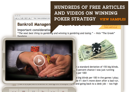 Hundreds of Poker Videos and Articles