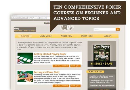 Comprehensive Poker Courses for Beginners